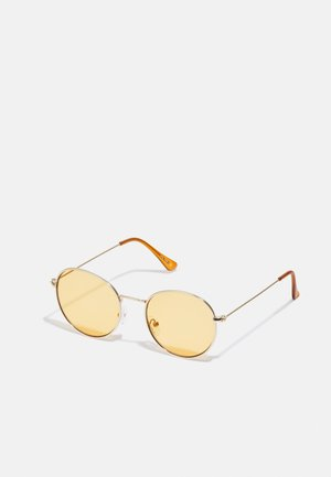 UNISEX - Sunglasses - gold/orange