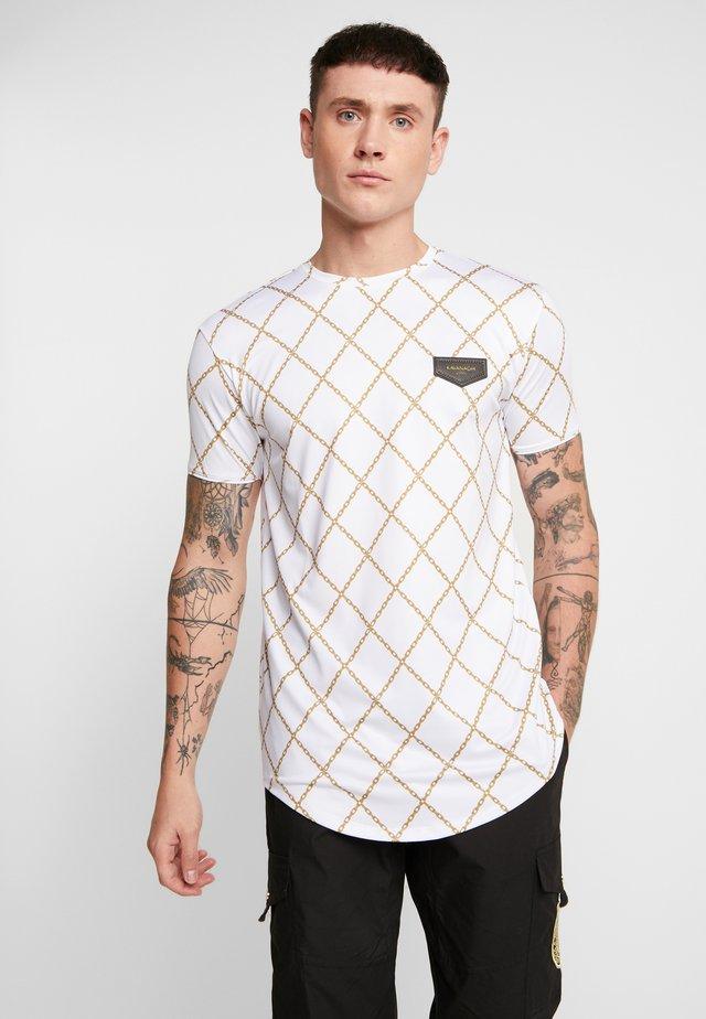 CHAIN  - T-shirts print - white