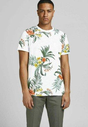 BOTANIK - T-shirt med print - white