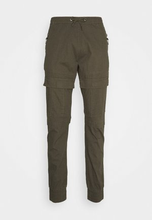 SUTTON - Cargo trousers - army