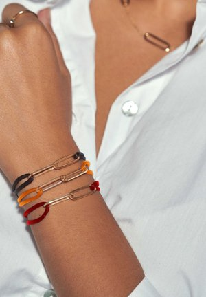 14 CARAT GOLD - Bracelet - braun
