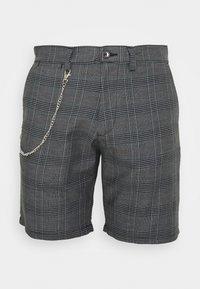 Brave Soul - LEROY - Shorts - grey/white - 0