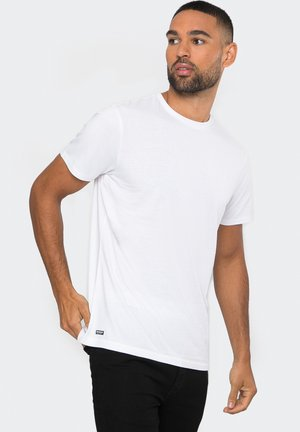 3ER PACK - Basic T-shirt - weiß