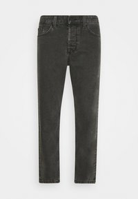 Only & Sons - ONSAVI BEAM WASH WITH CHAIN - Jeans Tapered Fit - black denim - 3