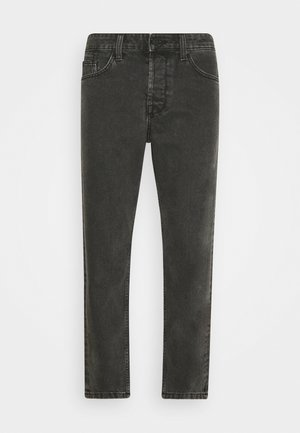 ONSAVI BEAM WASH WITH CHAIN - Tapered-Farkut - black denim