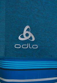 ODLO - SHORT SUSPENDERS ZEROWEIGHT CERAMICOOL PRO - Leggings - mykonos blue melange/white - 2