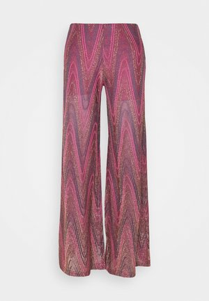 PANTALONE - Trousers - purple