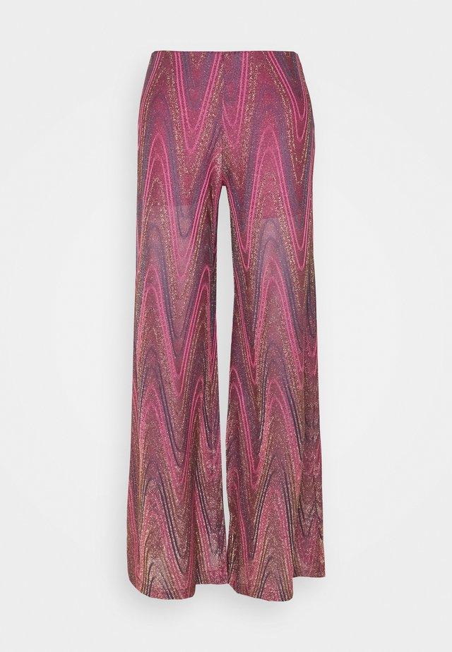 PANTALONE - Trousers - purple