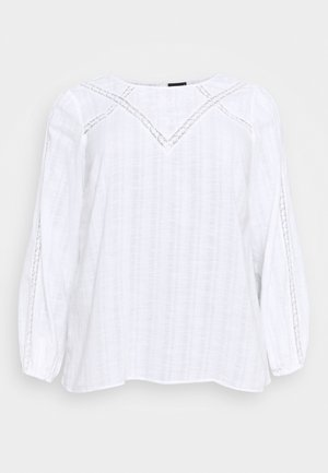 MASHER BLOUSE - Bluser - bright white