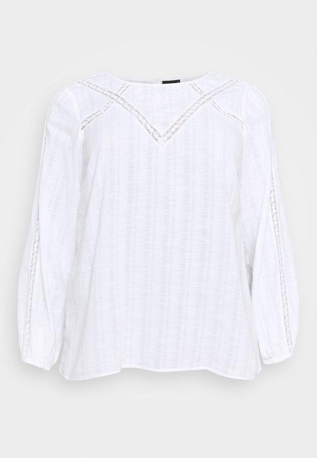 MASHER BLOUSE - Blouse - bright white