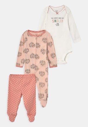 SMILE SET - Kalhoty - light pink
