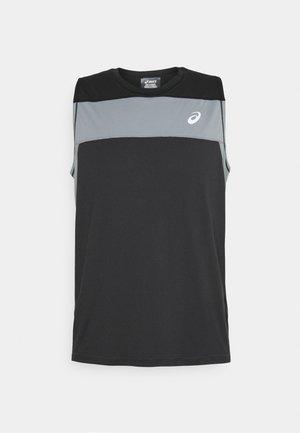 RACE SINGLET - Top - graphite grey/performance black