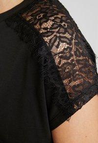 ONLY Petite - ONLFFREE - T-shirt basique - black - 5