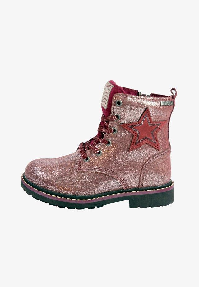 Winter boots - ambergine