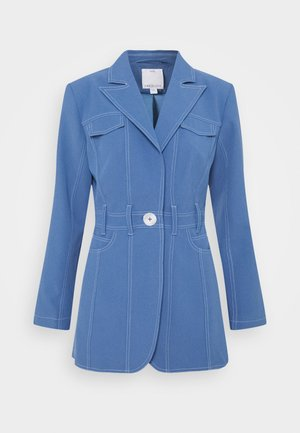 Short coat - washed blue