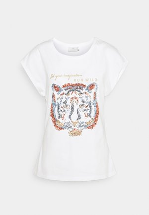 KACRISTY - Print T-shirt - chalk