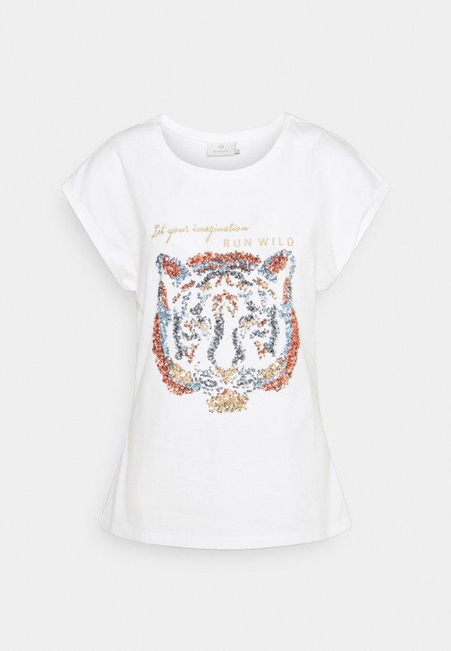 KACRISTY - T-shirt print - chalk