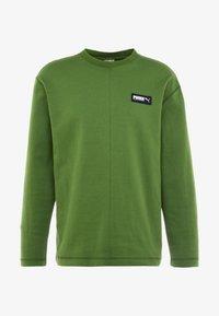 Puma - FUSION CREW - Sweatshirt - garden green - 3