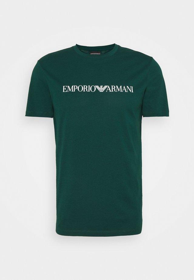T-shirt imprimé - verde scuro