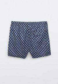 Massimo Dutti - Swimming shorts - blue black denim - 1