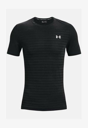 SEAMLESS FADE - Sportshirt - black
