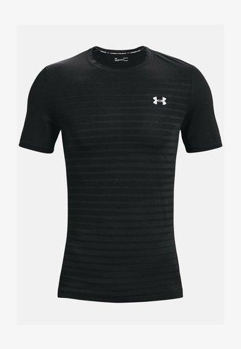 SEAMLESS FADE - Koszulka sportowa - black