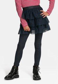 WE Fashion - A-line skirt - dark blue - 0