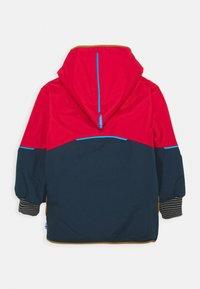 Finkid - NALLE MUKKA UNISEX - Hardshell jacket - navy/cinnamon - 1