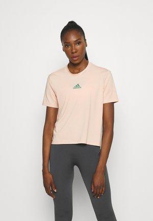 T-shirt basic - halo blush