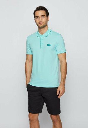 Polo shirt - open blue
