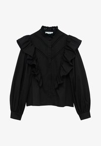 Mango - ROMA - Button-down blouse - zwart - 5