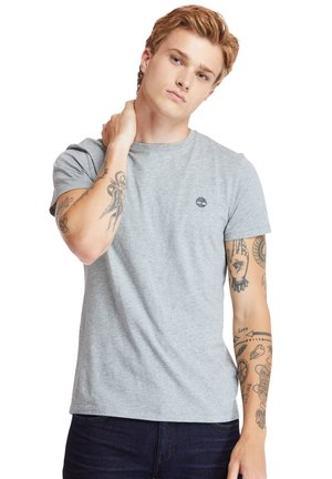 3PACK - Basic T-shirt - grey