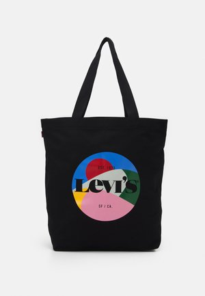 WOMENS SEASONAL GRAPHIC TOTE - Velká kabelka - regular black