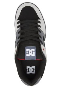 DC Shoes - PURE - Obuwie deskorolkowe - black/grey/red - 1