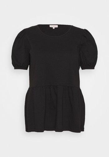 CARANNI PUFF - Print T-shirt - black