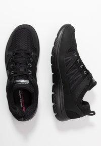 Skechers Sport - SUMMITS - Zapatillas - black - 3