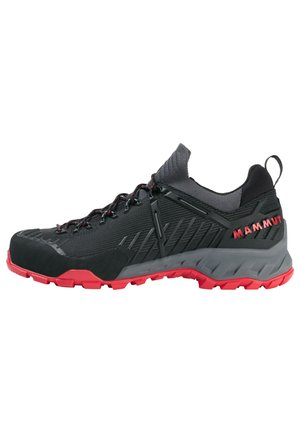 ALNASCA II LOW MEN - Hiking shoes - black-spicy