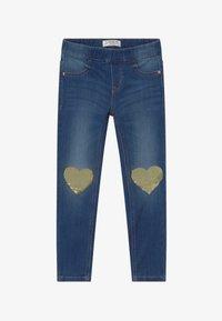 Lindex - MINI TINA - Slim fit jeans - dark denim - 3