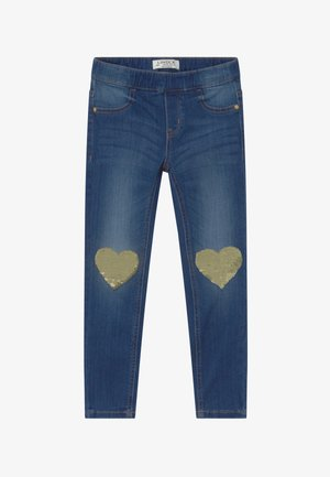 MINI TINA - Jeans Slim Fit - dark denim