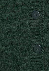 Monki - NINNI CARDIGAN - Kardigan - green dark - 6