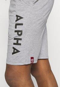 Alpha Industries - LIGHT - Teplákové kalhoty - grey heather - 4