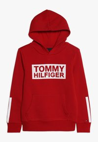 Tommy Hilfiger - SPECIAL HOODIE - Huppari - red - 0