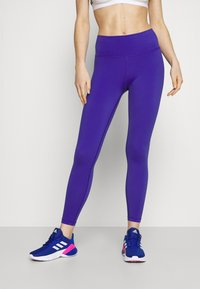 adidas Performance - BELIEVE THIS 2.0 AEROREADY SPORTS COMPRESSION LEGGINGS - Tights - royal blue - 0