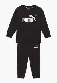 Puma - MINICATSS CREW JOGGER SET - Trainingspak - black - 0