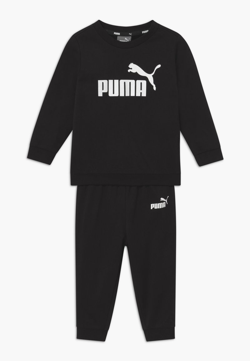 Puma - MINICATSS CREW JOGGER SET - Trainingspak - black