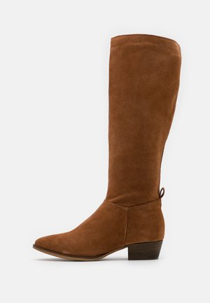 LEATHER  - Boots - brown