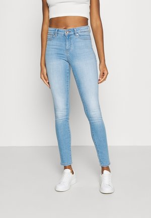 ONLANNE LIFE MID SKINNY  - Jeansy Skinny Fit - light blue denim