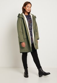 MY TRUE ME TOM TAILOR - WINTER - Parka - olive night green - 1
