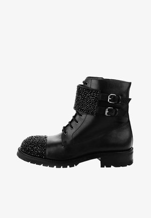 ACATE - Lace-up ankle boots - black