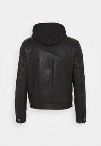 Serge Pariente - JEAN DELETION LIST - Leather jacket - black - 1
